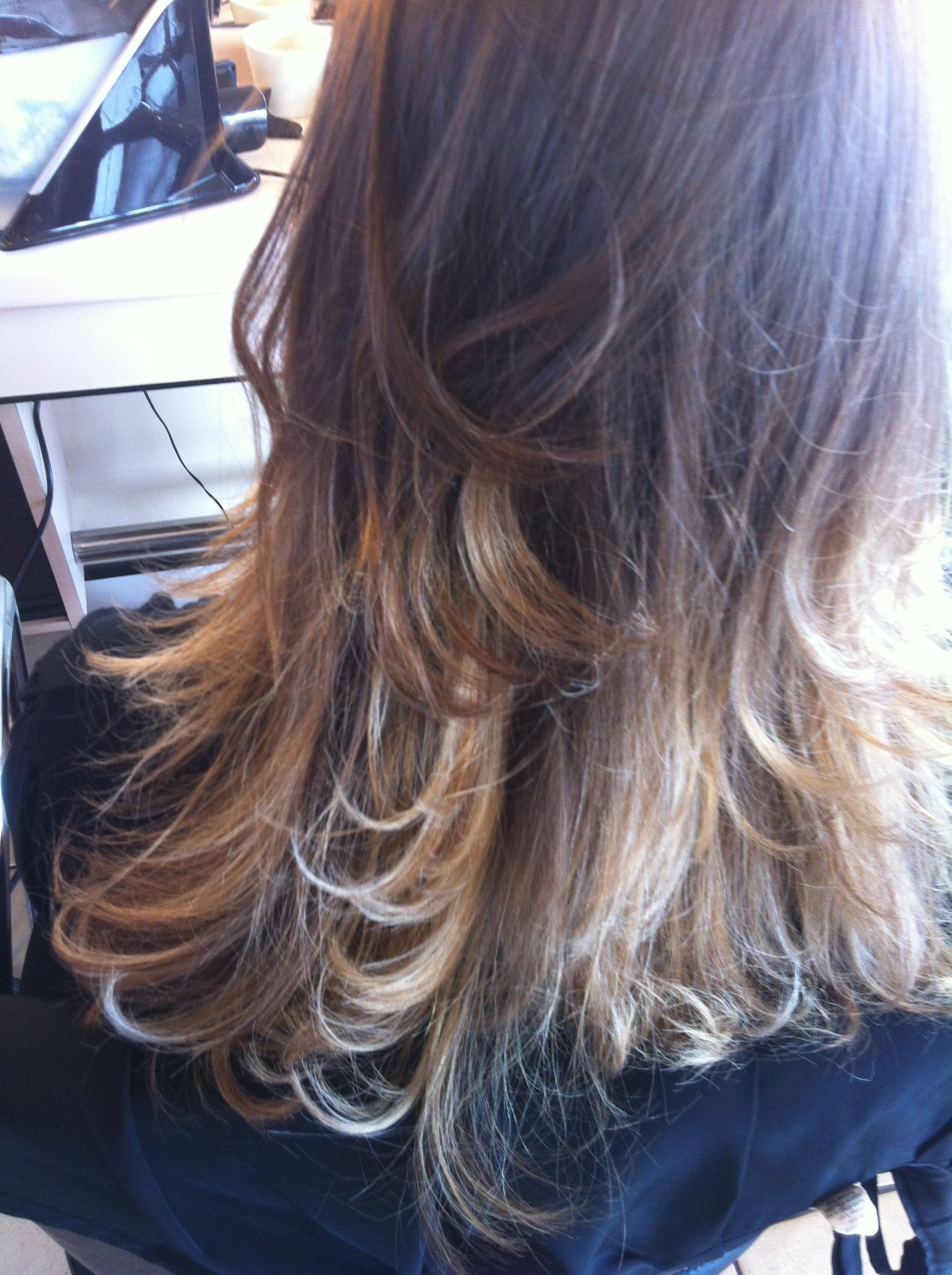 Brown ombre hair hair u makeup pinterest brown hair and
