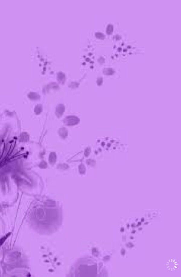 Pretty Purple Flowers Wallpaper IPhone