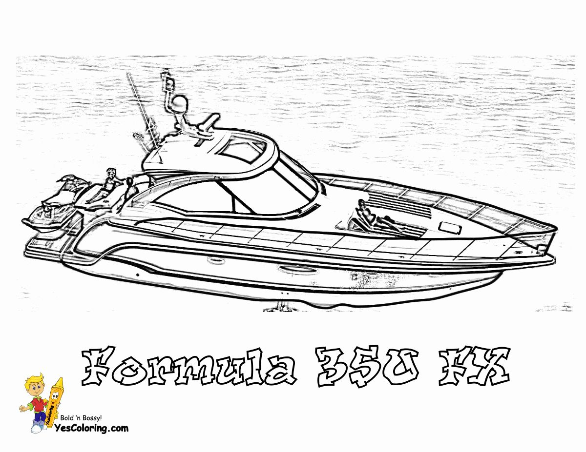 Free Printable Boat Coloring Pages For Kids Coloring Pages