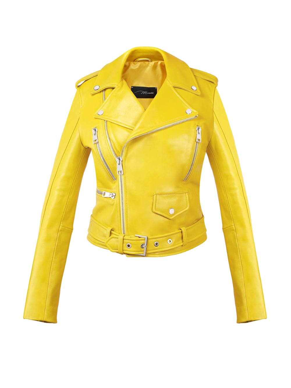 Classic Biker Jacket Jackets By Www Manokhi Com Best Leather Jackets Leather Jacket Leather Bustier [ 1333 x 1000 Pixel ]