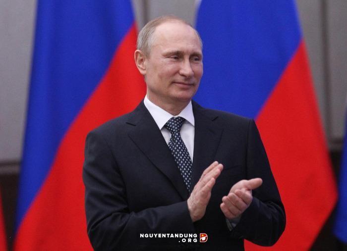 Tổng thống Nga Putin chúc mừng tân Chủ tịch nước Trần Đại Quang
