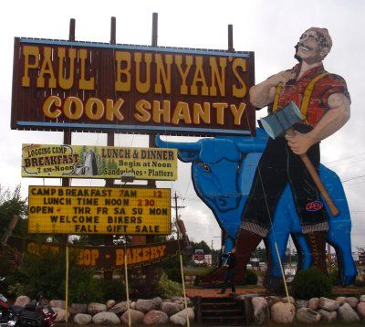 Paul Bunyan Is A Great Restaurant In Minocqua Wi They Have The Best All You Can Eat Doughnuts