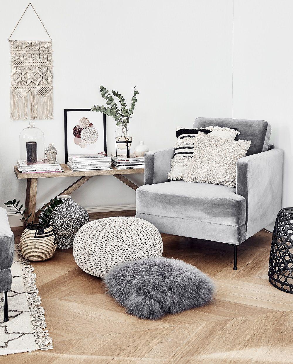 Samt sessel fluente sofas st hle sessel pinterest - Wandschmuck wohnzimmer ...