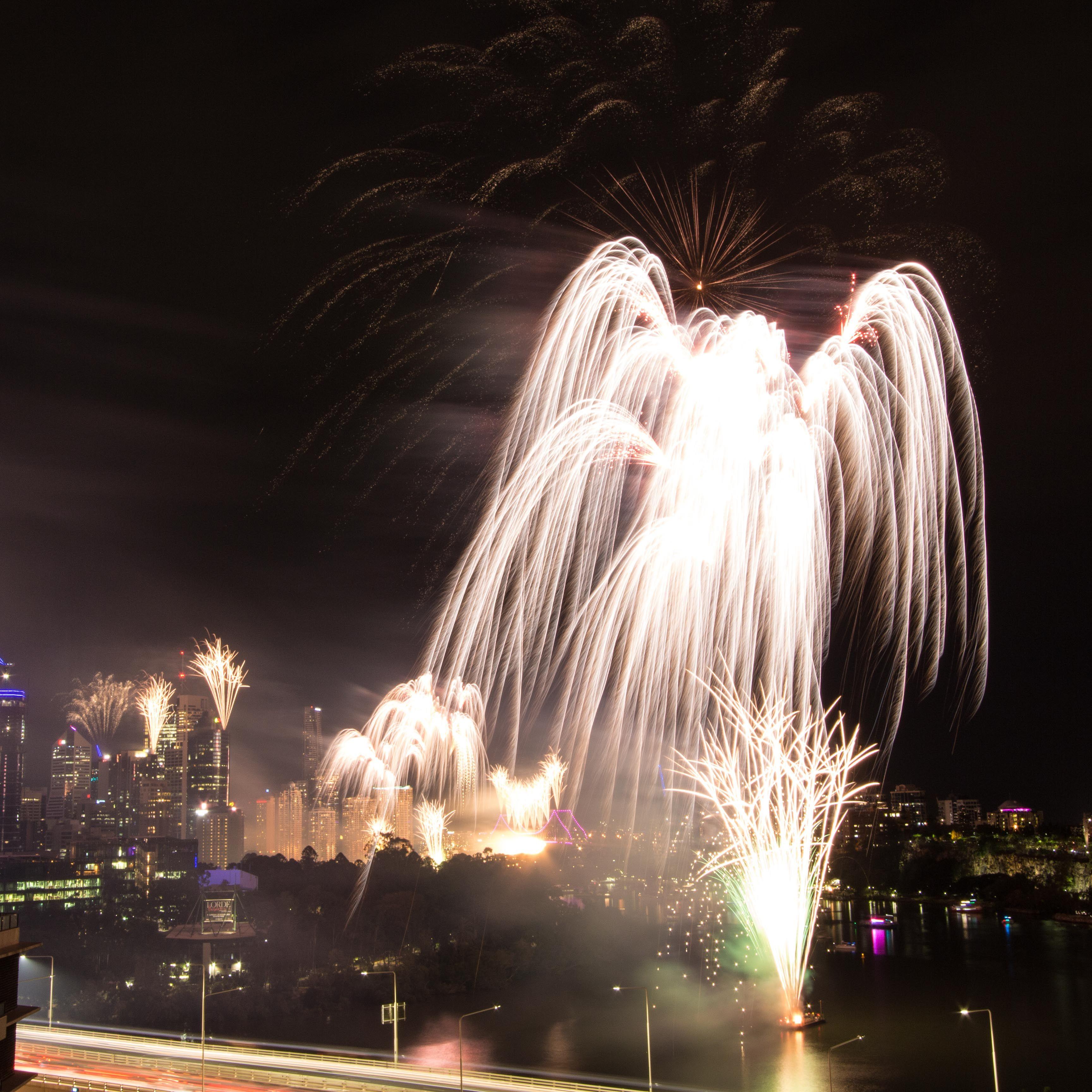 Brisbane RiverFire 2017. fireworks