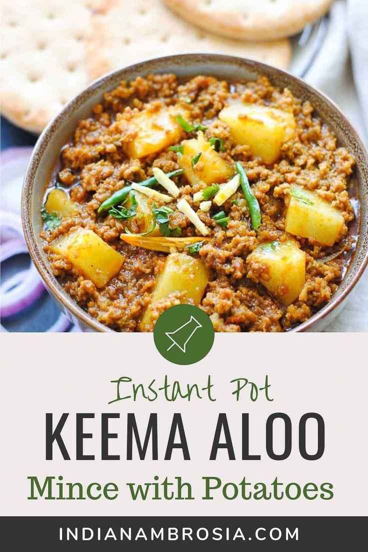 Keema Aloo Mince With Potatoes Recipe Keema Recipes Minced
