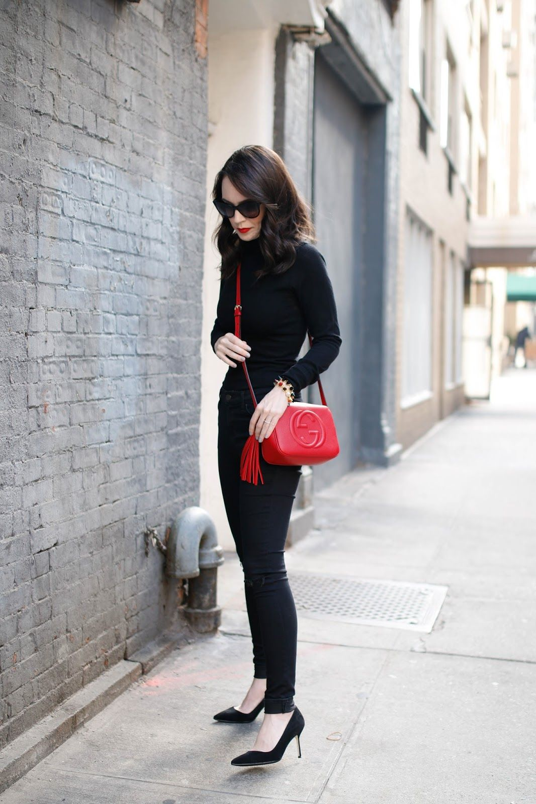 47aa1ad876bf Gucci Disco Bag in red