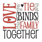 Designs :: Home Decor :: Love Binds