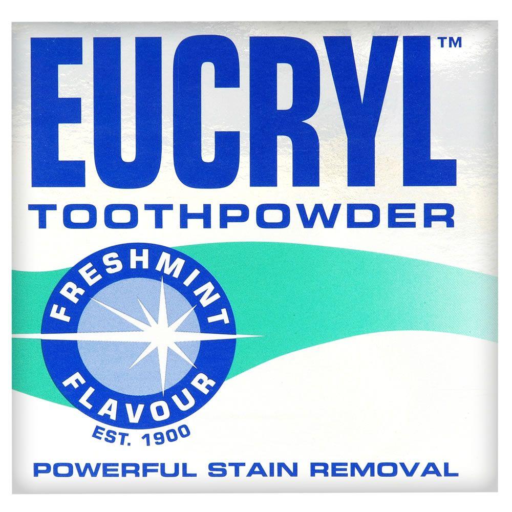 Eucryl Toothpowder Freshmint