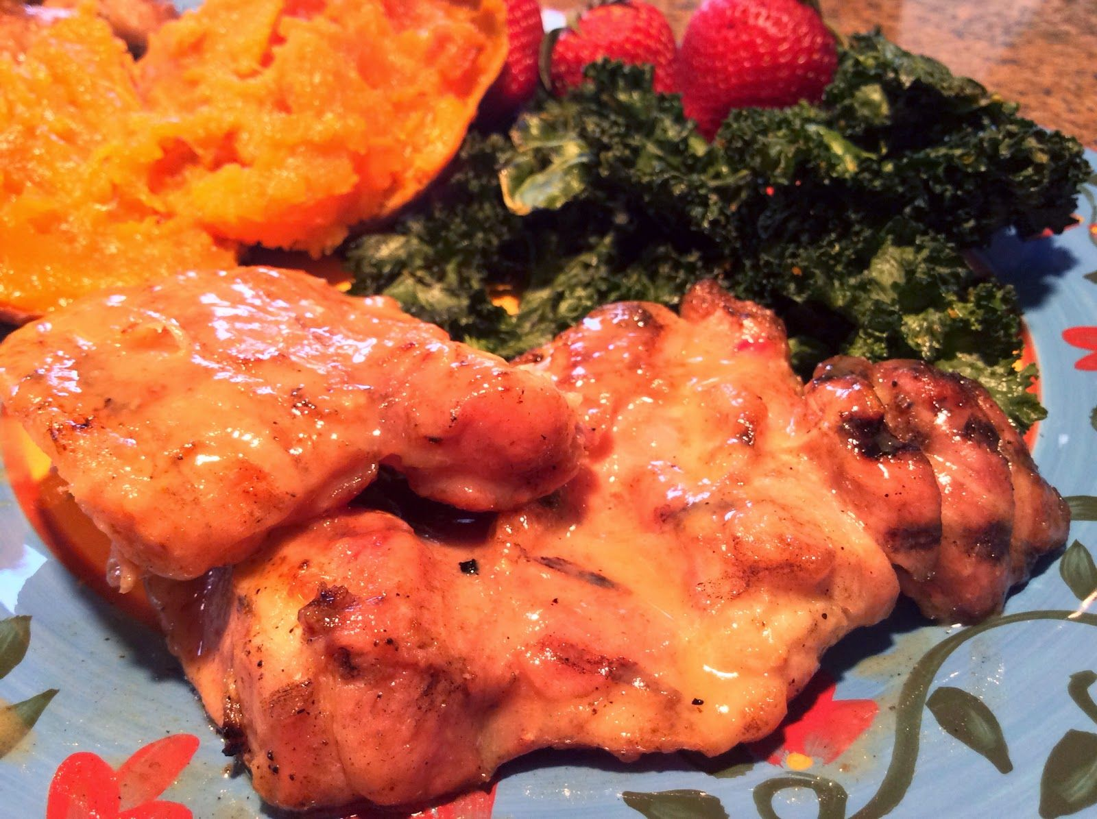 Food Fitness by Paige: Grilled Honey Mustard Chicken