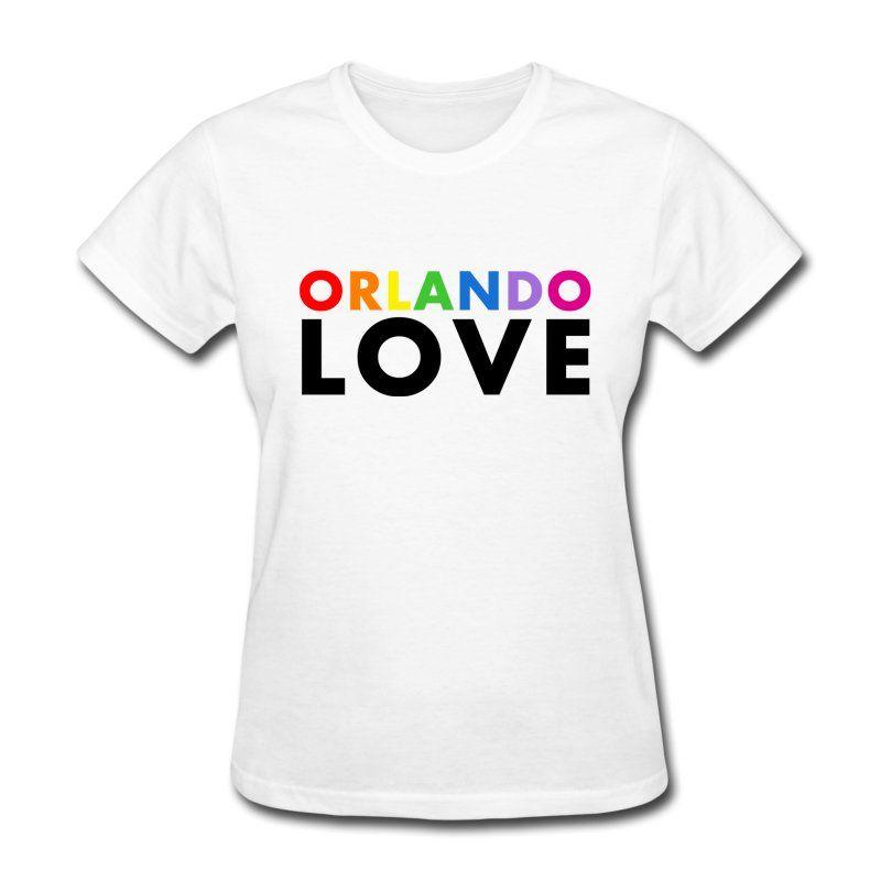 Orlando Love - Women's White T-Shirt