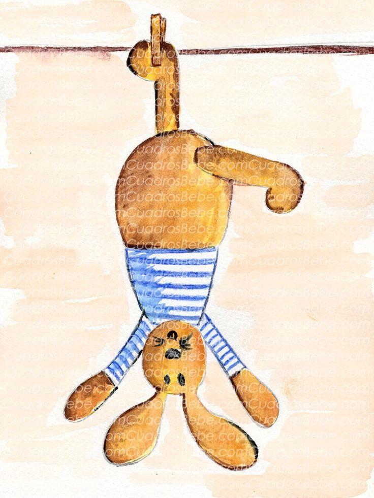 Dibujo Acuarela Nino Buscar Con Google Baby Art Framed Canvas