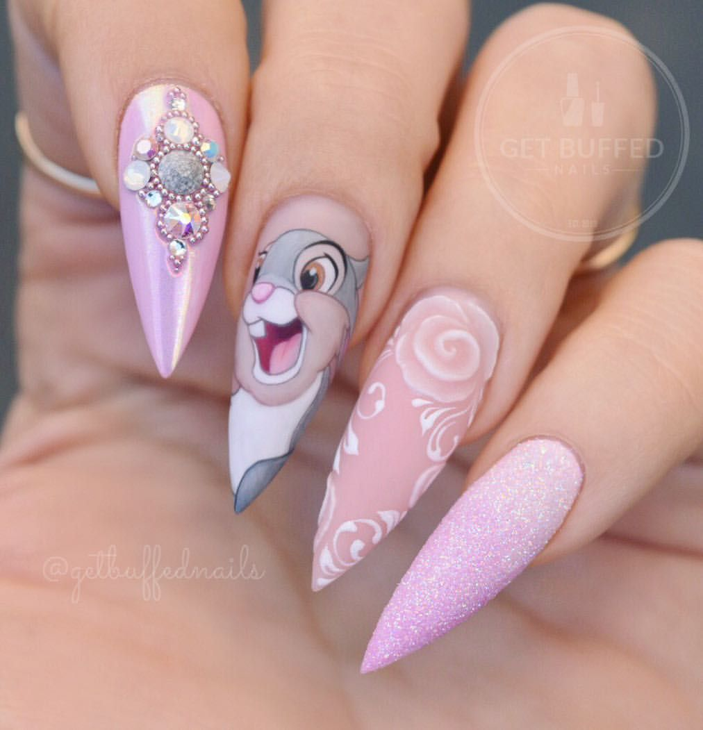Pin Di Jessica G Ourisman Su Disney Nail Art Nel 2019 Nails
