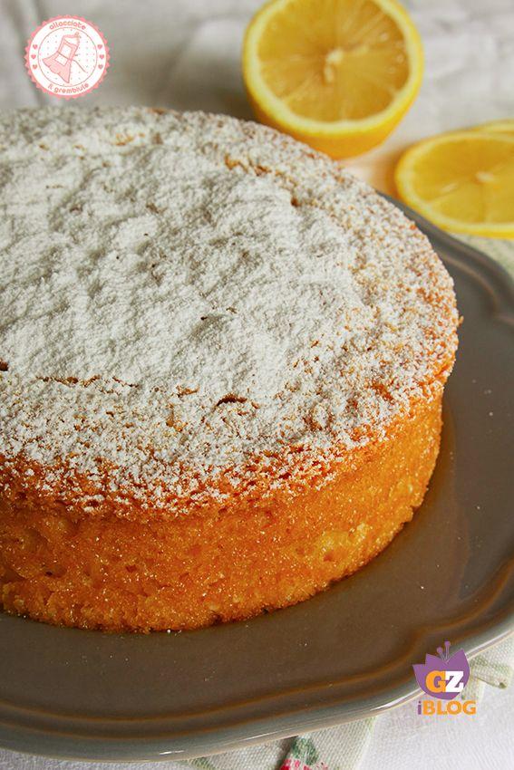 Torta Soffice Al Limone Senza Burro Tutte Le Ricette Di Allacciate