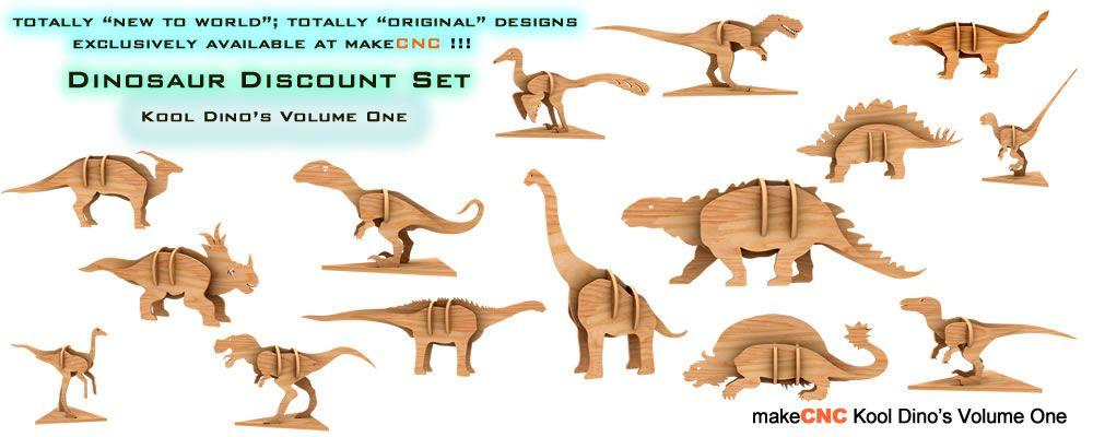 Kool Dinos Volume One Dinos Dinosaur Puzzle Set