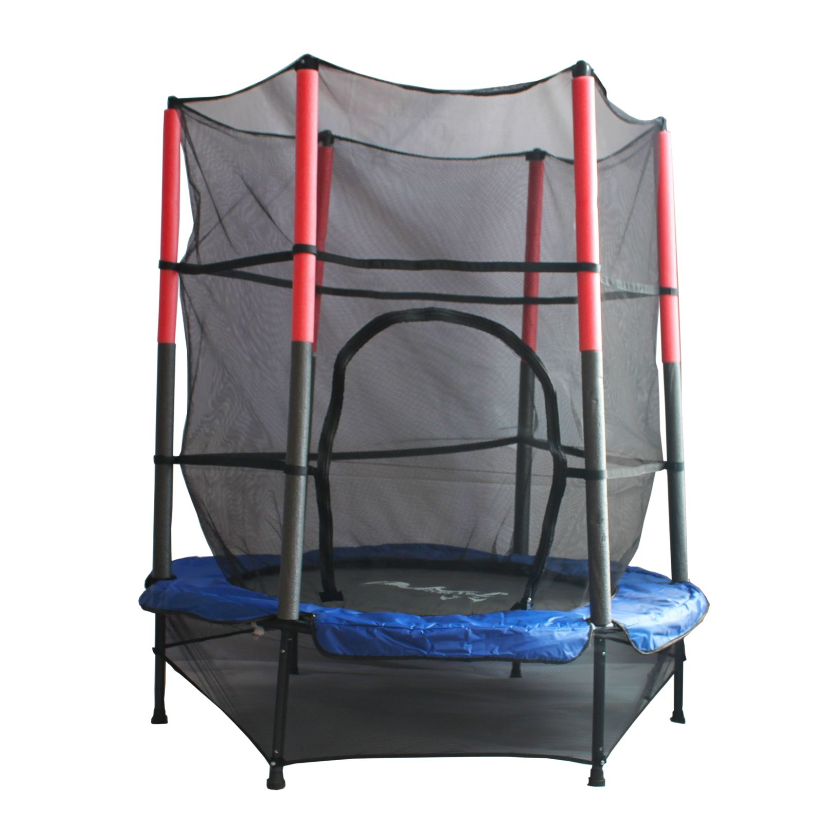 FoxHunter Junior Trampoline With Enclosure Safety Net Kids Activity 4 5FT 55 034