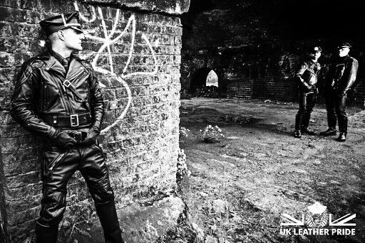 Langlitz Full Leather Cop Gay