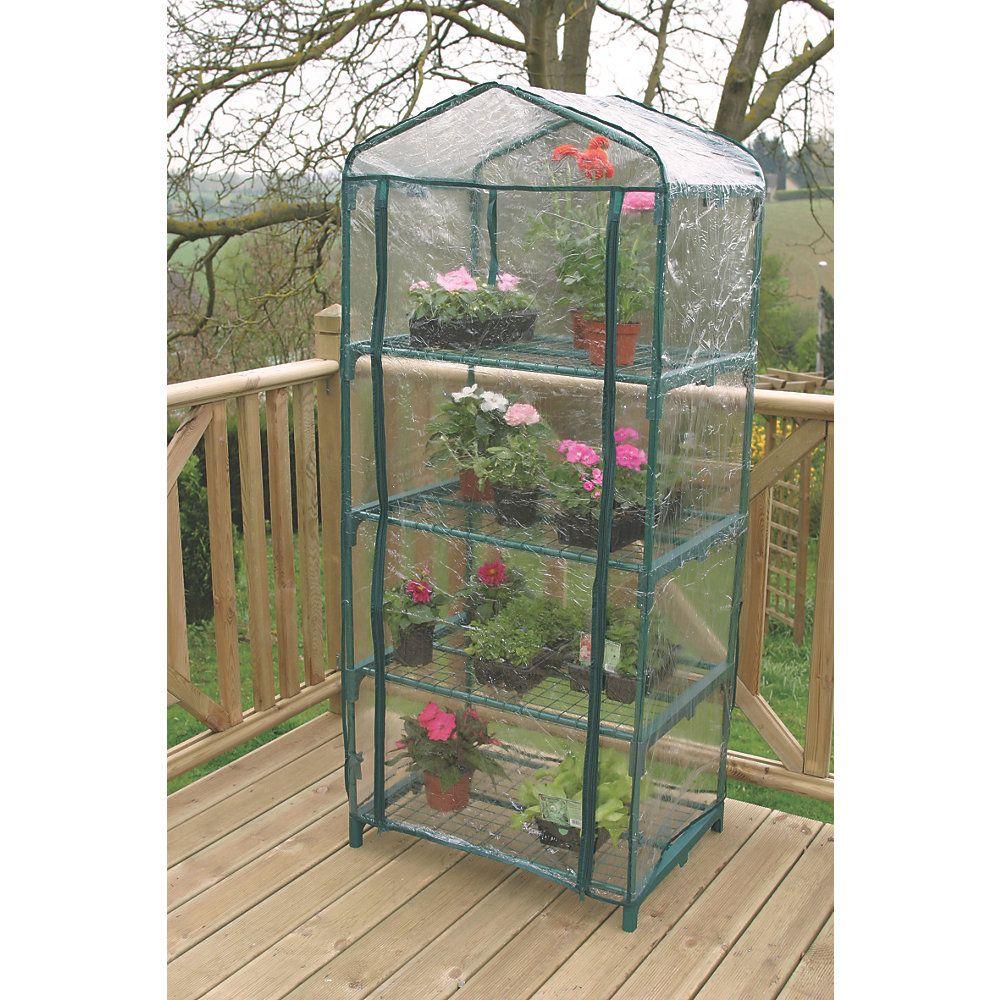 apollo 4 tier mini greenhouse 690 x 490 x 1600mm 2 39 3 x 1. Black Bedroom Furniture Sets. Home Design Ideas