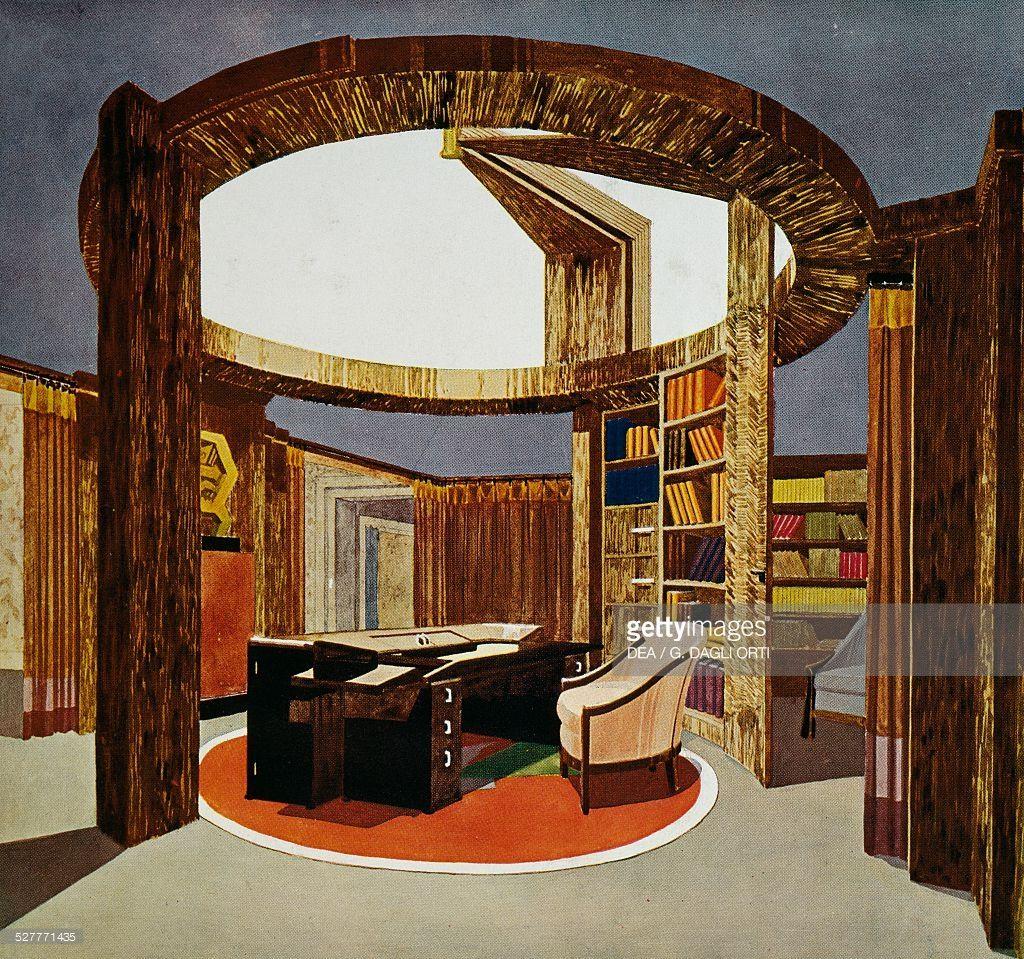 Bureau Bibliotheque for the Ambassade de France