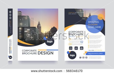 poster flyer pamphlet brochure cover design layout space for photo - design cover