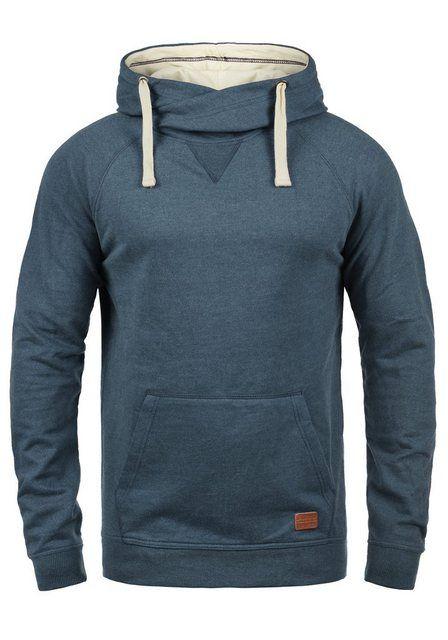 Photo of Blend Hoodie »Sales« Kapuzensweatshirt mit Cross-Over Kragen…