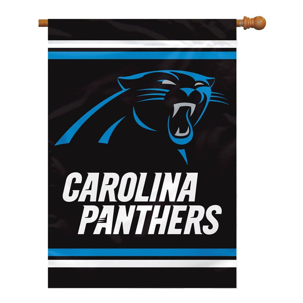 Carolina Panthers 2-Sided Outdoor Banner Flag
