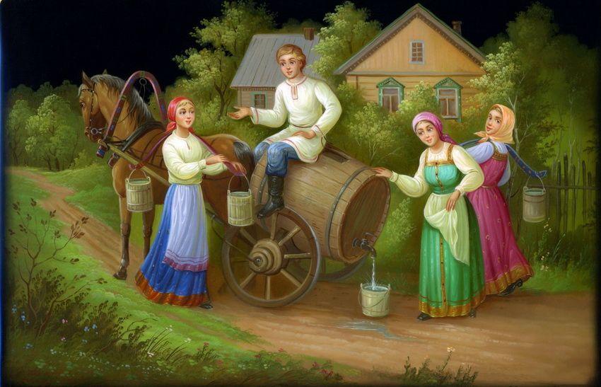Картинки про, анимация картинки русская народная