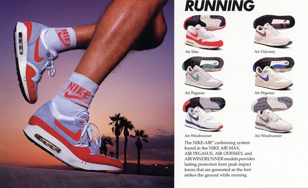 Nike Air Running Shoes 1987 Vintage Nike Nike Nike Air