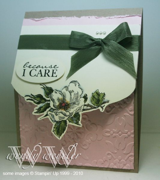 WMW I Care by Wendybell - Cards and Paper Crafts at Splitcoaststampers