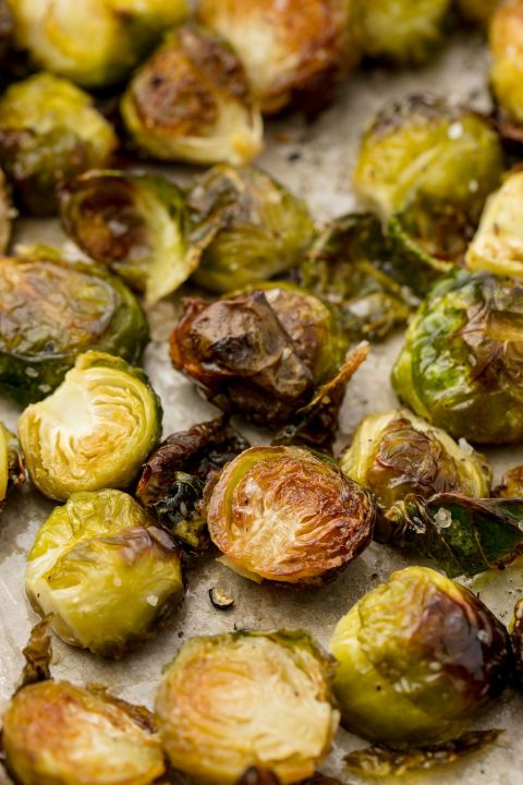 96 Side Dishes That Will Make Weeknight Dinners A Thousand Times Better #buffalobrusselsprouts