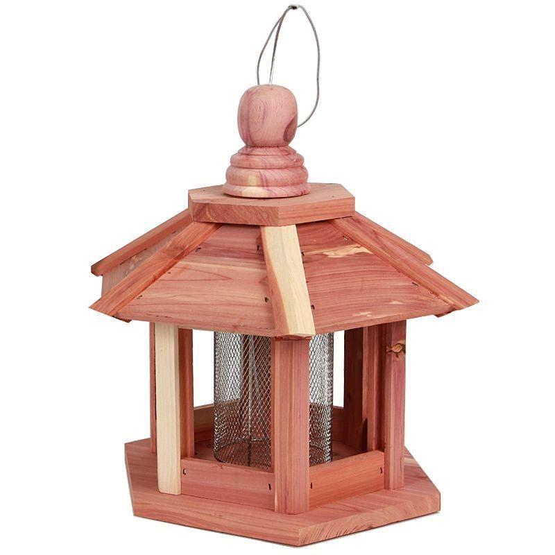 mangeoire halifax en bois - pour ravitailler les petits oiseaux