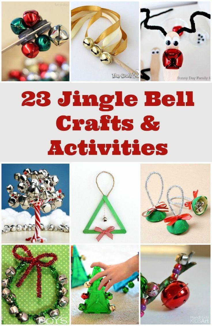 Nice Family Christmas Craft Ideas Part - 8: 23 Jingle Bell Craft Ideas U0026 STEM Activities - #christmas #crafts #bells