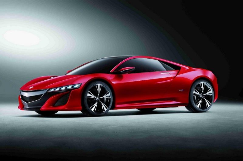 2012 Acura Nsx Concept Painted Red It Will Be Mine Oh Yes