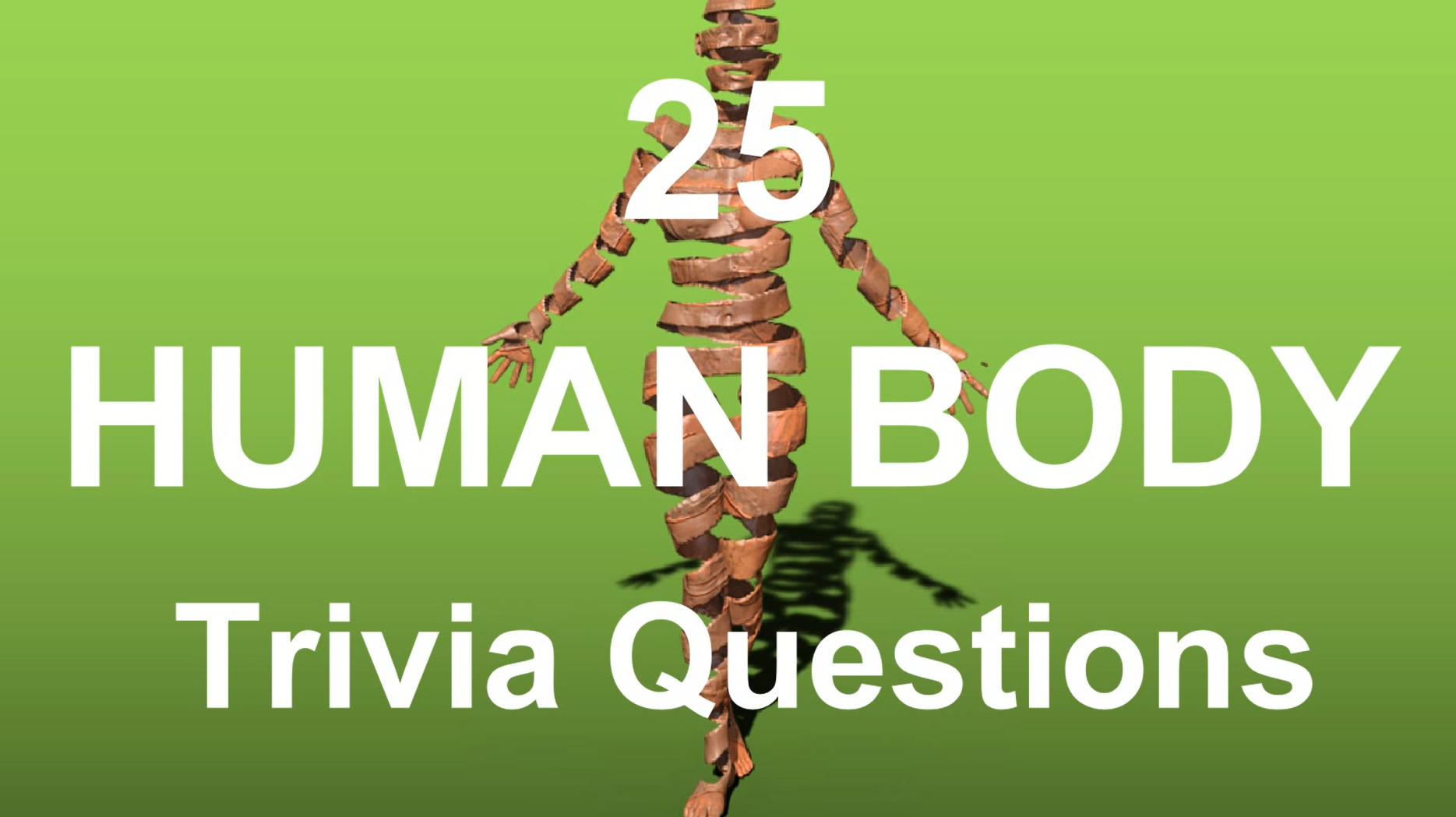 Here are 25 Human Body Trivia questions covering different aspects ...