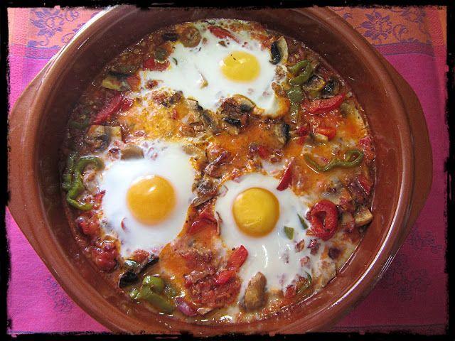 El Puchero de Morguix: Huevos a la cazuela