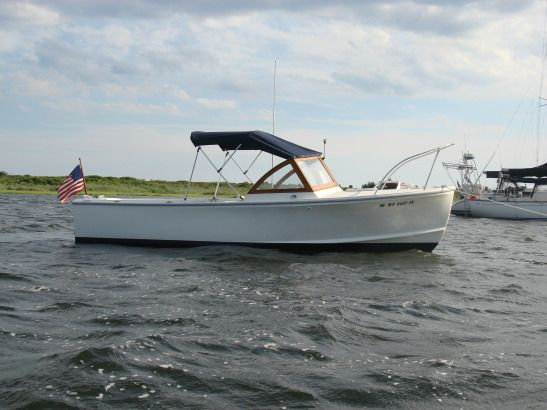 Downeast boats for sale 1979 22 39 tripp angler downeast for Angler fishing boat