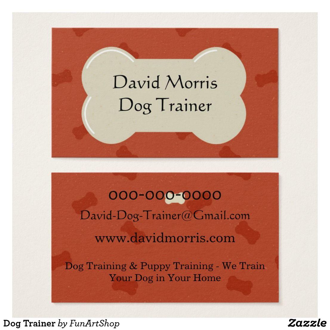 Dog Trainer Business Card | Dog
