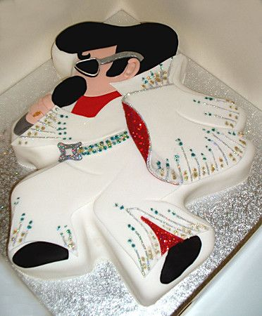 Personal Birthday Cakes With Images Elvis Cakes Elvis Presley