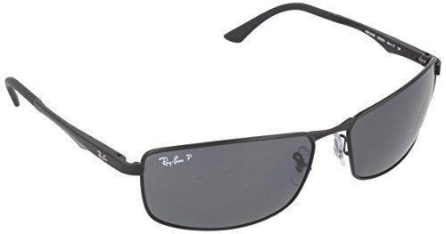 28e9f5dceb Ray-Ban RB3498 Sunglasses 006 81-61 - Matte Black Frame Polar Gray