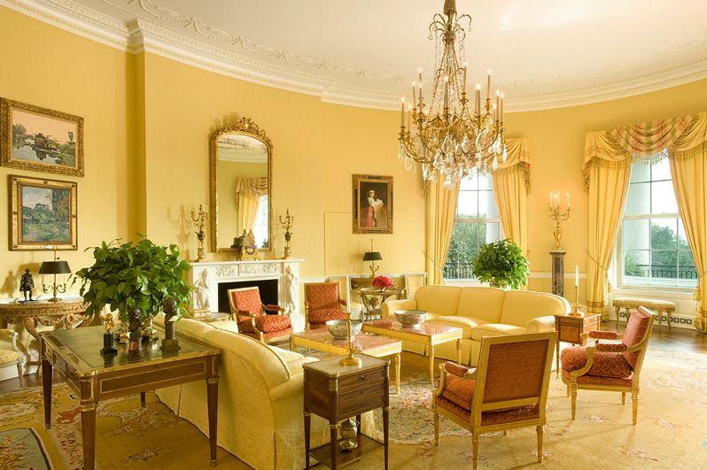 Charmant Interior Design By Ken Blasingame (Courtesy Of The White House Historical  Association)