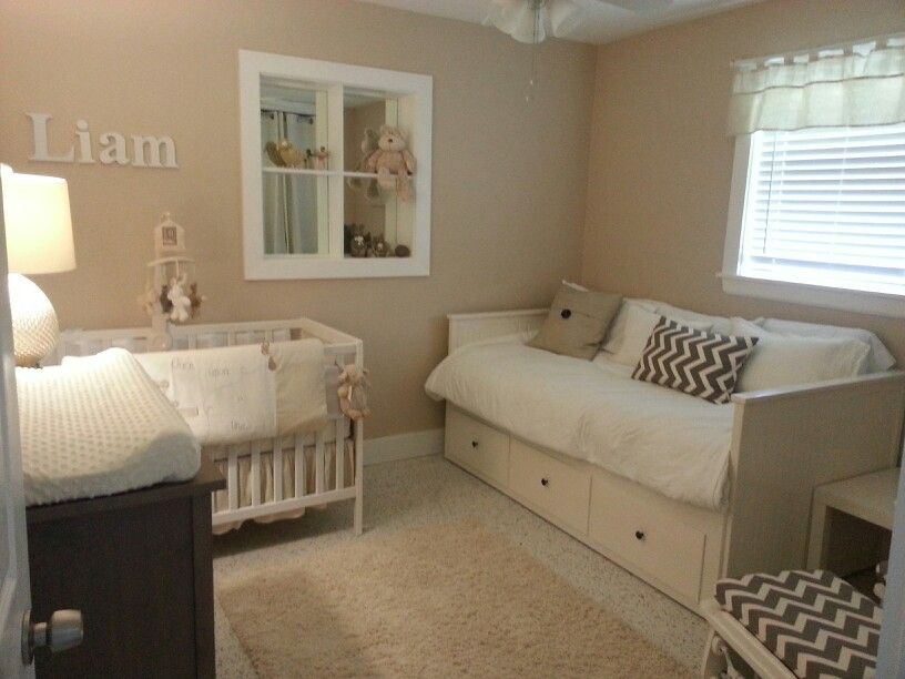 nursery ideas in neutral colors baby room with a daybed is a good