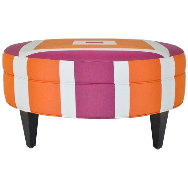 Holyoke Round Ottoman ❤ liked on Polyvore featuring home, furniture ...