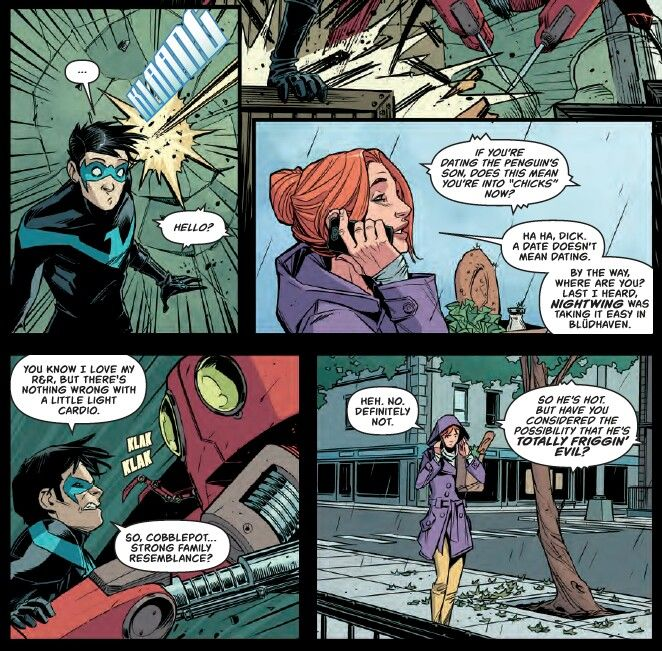 Pin by Eileen Espino on Nerd Out Nightwing, Batgirl