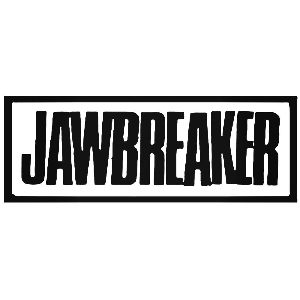 Jawbreaker band decal sticker ballzbeatz com