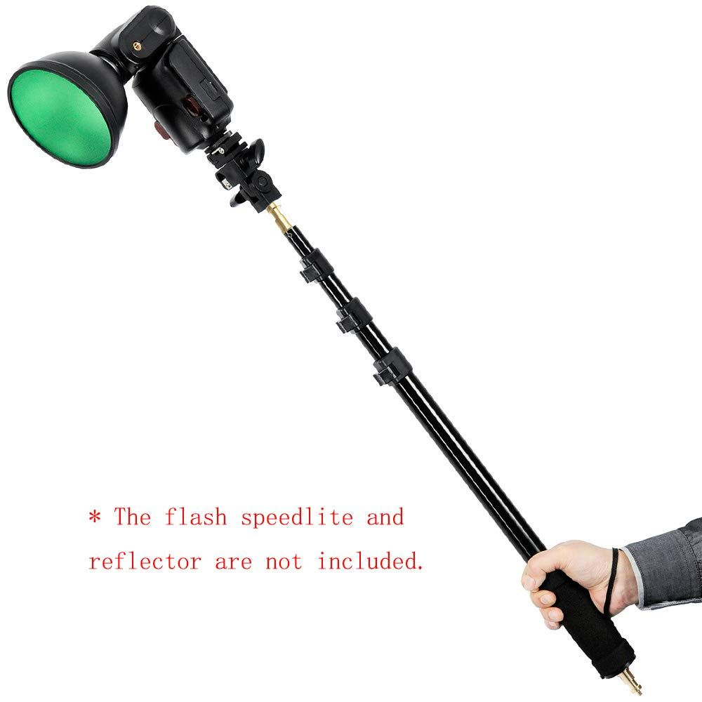 Godox AD-S13/21/ /63///55/ /160/cm Boom Luce portatile Barra Stick 1//4 filettatura Maschio per Witstro Flash AD180/AD360