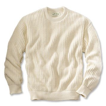 Made in USA, Made in America. Cotton Crew Neck Sweater ...