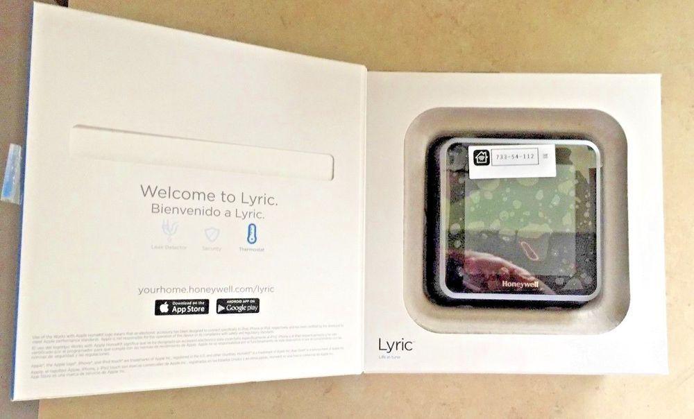 Thermostat #HONEYWELL #LYRIC #T5 #WiFi (Open Box) #Apple