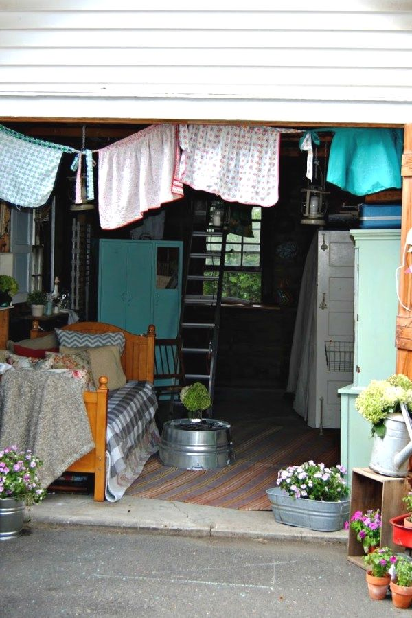 10 Easy Potting Shed transformation designs for your backyard