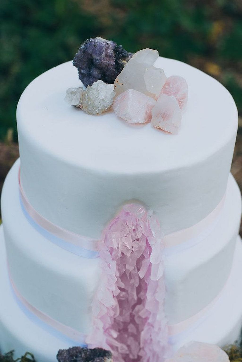 awesome crystal wedding cake crystal wedding wedding cake and