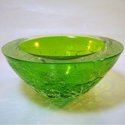 Murano Seguso Glas Schale • Sommerso • Iceglass • 1,2 kg | eBay
