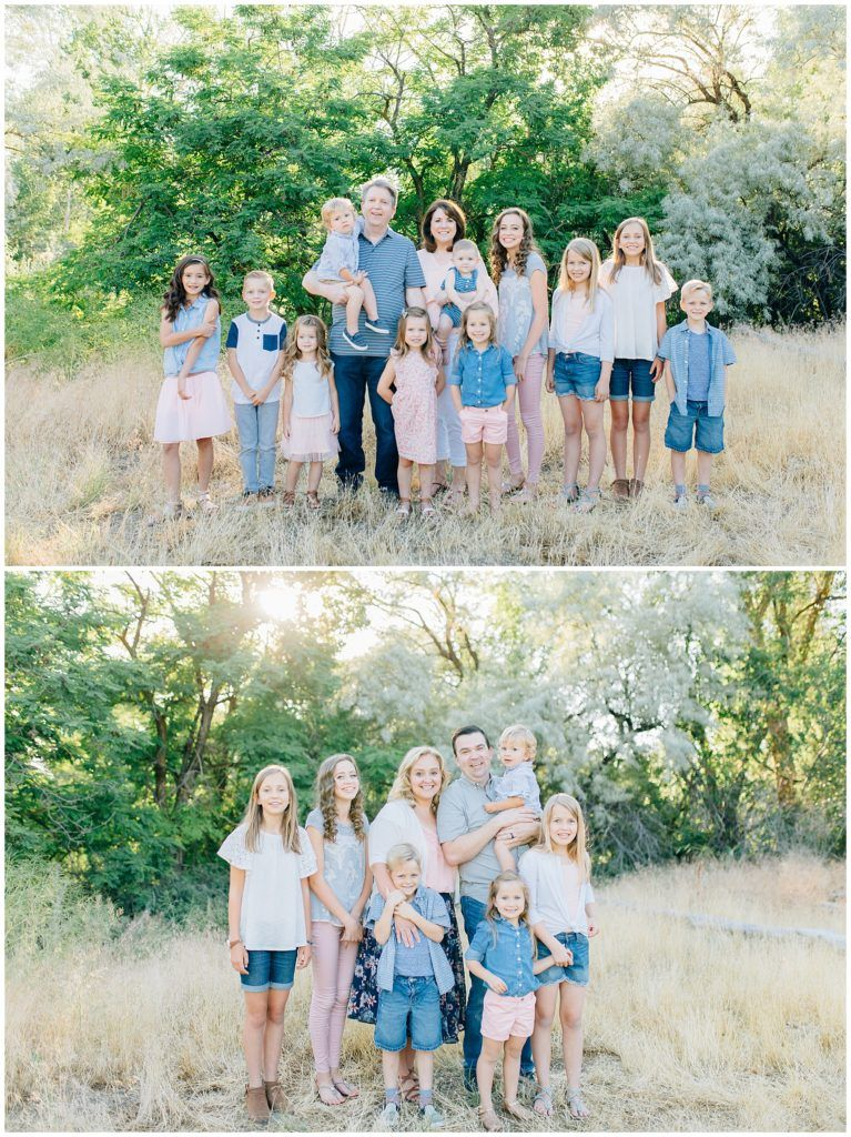 Extended Family Pictures in Utah #extendedfamilyphotography